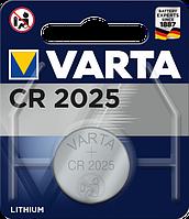 Батарейка Varta CR 2025 BLI 1 Lithium (06025101401) (4008496276875)