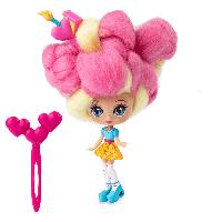 """Кукла """"Кендилукс сладкая вата"""" Candylocks с цветными волосами Код 12-1967"""