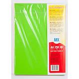 Бумага цветная MIX INTENSIVE А4 250(5х50) листов 80 г/м2, фото 4