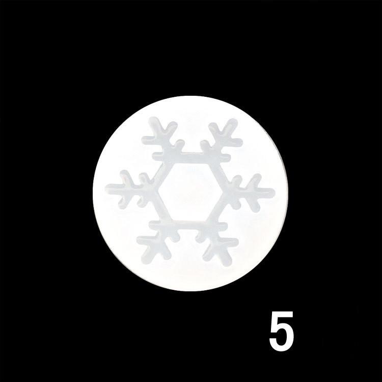 Силиконовый молд, форма, Снежинка №5