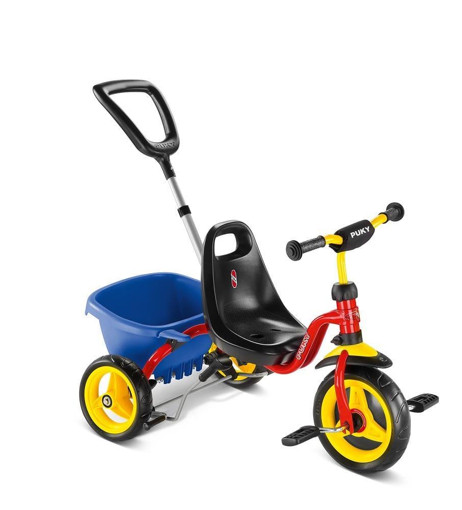 410 Трехколесный велосипед Puky CAT 1 S (2213, красный(red))