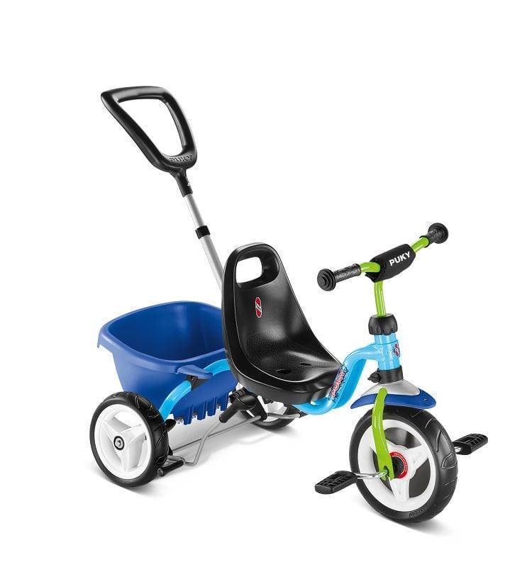 410 Трехколесный велосипед Puky CAT 1 S (2216, голубой/киви(blue/kiwi))