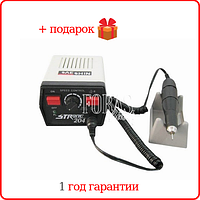 Аппарат для маникюра Strong 204/102L 35 000 об/мин, 65 Вт, гарантия 12 мес