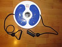 Диск здоровья Грация акупунктурный с магнитами и с эспандерами Плюс Waist twisting disc with ropes