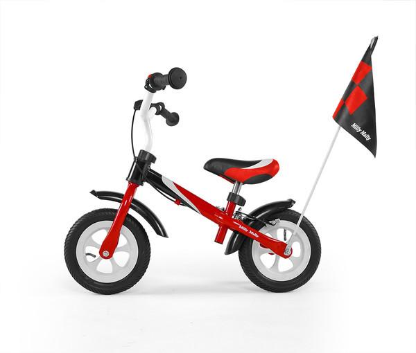 7021 Беговел Dragon Delux з надувными колесами (красный(Red))