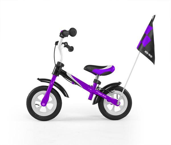 7021 Беговел Dragon Delux з надувными колесами (фиолетовый(Violet))