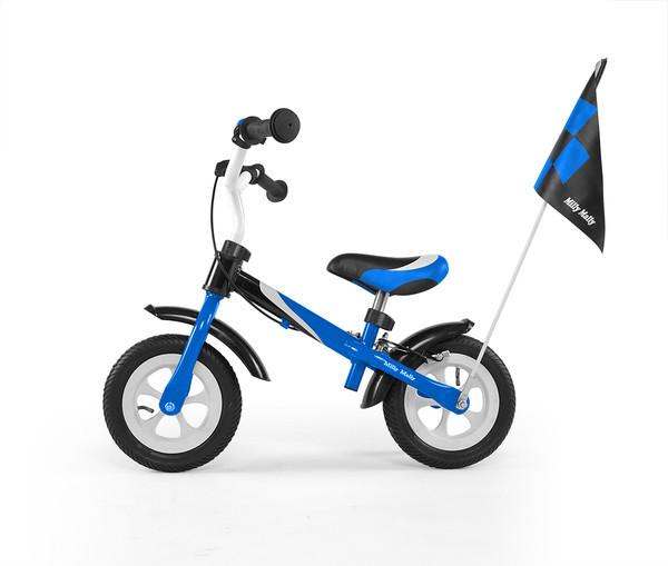 7021 Беговел Dragon Delux з надувными колесами (синий(Blue))