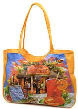 Удобная пляжная сумка Podium 1342 yellow, желтая