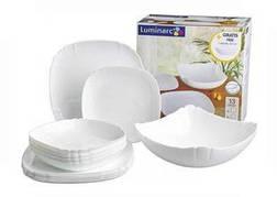 Столовый сервиз LUMINARC LOTUSIA white 18 приборов