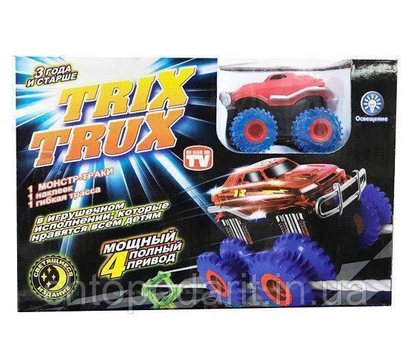 Машинка монстр-траки Trix Trux (3 детали)  Код 10-2104