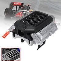 GRC Двигатель Имитационный радиатор F11 V8 5.0 Мотор Охлаждающий вентилятор для 1/10 Traxxas TRX-4 TRX4 Rc Авто Запчасти - 1TopShop