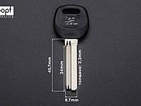 Заготовки ключей BAODEAN с пластиковой ручкой (латунь)