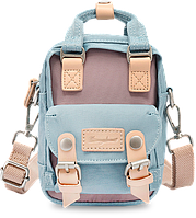 Мини рюкзак - сумочка Doughnut голубой