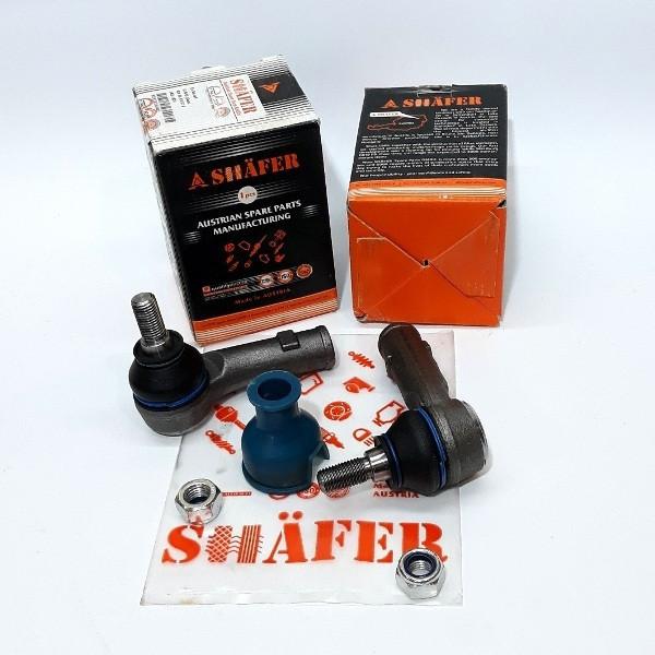 Усиленный Рулевой наконечник Citroen Jumper Ситроен Джампер (2006-) 77364253. SHAFER Австрия