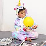 "Пижама Кигуруми детский   ""Единорог звездочка""  Код 10-4073, фото 2"