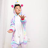 "Пижама Кигуруми детский   ""Единорог звездочка""  Код 10-4073, фото 3"