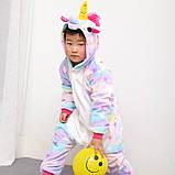 "Пижама Кигуруми детский   ""Единорог звездочка""  Код 10-4073, фото 4"