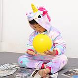 "Пижама Кигуруми детский   ""Единорог звездочка""  Код 10-4073, фото 5"