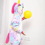 "Пижама Кигуруми детский   ""Единорог звездочка""  Код 10-4073, фото 7"