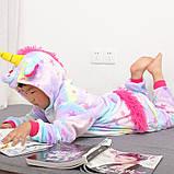 "Пижама Кигуруми детский   ""Единорог звездочка""  Код 10-4073, фото 8"