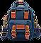 Мини - сумочка Doughnut голубая Код 10-2140, фото 4