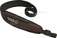 Ремень ружейный Sauer ERGO Rest. Цвет - коричневый