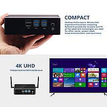 Мини-ПКXCYX35IntelядроI3-8130U Quad ядро 4 ГБ + 60 ГБ 4 ГБ + 120 ГБ Intel HD Графика 620 Windows 10 DDR4 4 К 300 М Wi-Fi Гигабитный Ethernet HDMI, фото 3