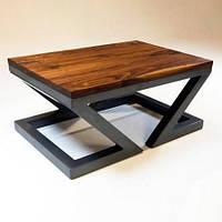 Кофейный журнальный столик в стиле LOFT (NS-970001971), вис-450мм, шир-500мм, довж-900мм,