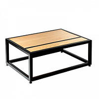 Кофейный журнальный столик в стиле LOFT (NS-970001976), вис-400мм, шир-600мм, довж-1000мм,