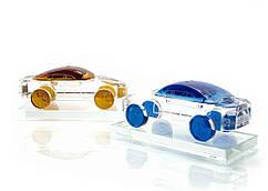 Автомобиль хрустальный (для арома масла)(10,5х5х4,5 см)(QXS-3)