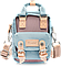 Мини - сумочка Doughnut голубая Код 10-2160, фото 3