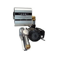 DRUM TECH - Насос з лічильником, для заправки дизельного палива, 220В, 60 л/хв