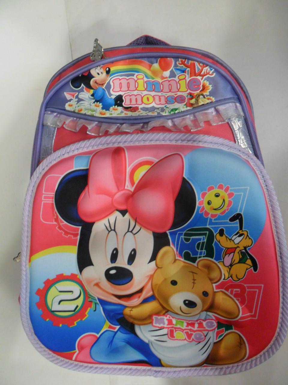 """Рюкзаки школьные """"M. Mouse""""."""