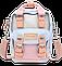 Мини - сумочка Doughnut пудра Код 10-2265, фото 5
