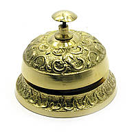"""Колокольчик портье бронзовый (9х6х6 см)(Bell Hook 3"""")"""