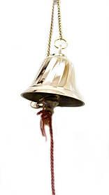 Колокол бронзовый на цепочке (d-10.8,h-116 см)