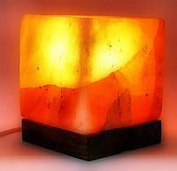 "Соляная лампа (SL16) ""Куб"" (Гималайская соль)"