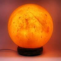 """Соляная лампа (SL20) """"шар"""" (3-4кг)(Гималайская соль)"""
