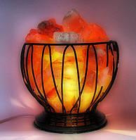 """Соляная лампа (SL14) """"чаша огня"""" (проволочная чаша)"""
