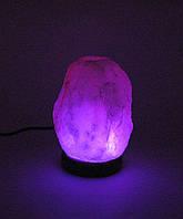 """Соляная лампа USB """"Натурал"""" (S-01)(11х8х9 см)(24 шт ящ.)(Гималайская соль)"""