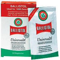 Салфетки для чистки оружия Klever Ballistol (10шт)