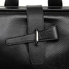 Рюкзак стильный черный кожаный BRETTON (36*29*15 см) BP 2004-7 black, фото 3