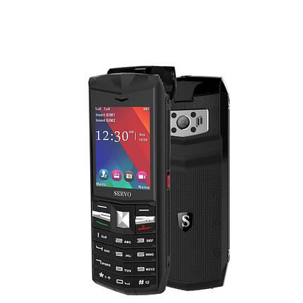 SERVOR262.4-дюймовый3000mAhPowerBank TWS True Wireless Bluetooth 5.0 Фонарик для наушников Двойная функция SIM-карты Телефон-Английский, фото 2