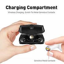 SERVOR262.4-дюймовый3000mAhPowerBank TWS True Wireless Bluetooth 5.0 Фонарик для наушников Двойная функция SIM-карты Телефон-Английский, фото 3