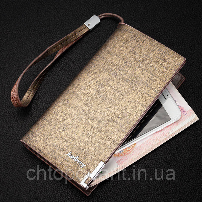 Мужской кошелек Baellerry класик  Код 10-2415