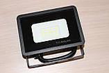 Прожектор LED TITANUM 10W 6000K 220V 700Lm Black, фото 2