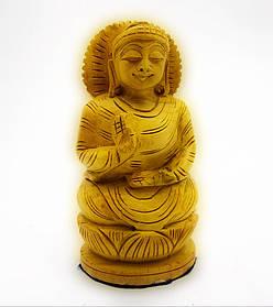 Будда деревянный резной