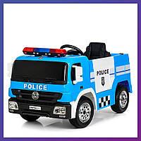 Детский электромобиль Police с пультом Bambi M 4076 EBLR-4 полицейская машина | Дитячий електромобіль Бембі