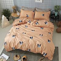 Комплект постельного белья Французский бульдог  (евро) Berni