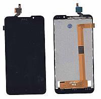 Матрица с тачскрином  для HTC Desire 516 Dual Sim черный